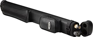 Casemaster Q-Vault Classic Billiard/Pool Cue Hard Case, Holds 1 Complete 2-Piece Cue (1 Butt/1 Shaft)