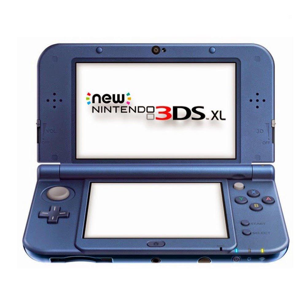 Nintendo New 3DS XL - videoconsolas portátiles (640 x 480 Pixeles, New Nintendo 3DS XL, Azul, Metálico, LCD, Analogue / Digital, 800 x 240 Pixeles): Amazon.es: Videojuegos