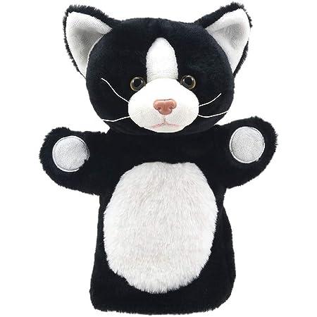 The Puppet Company Amis de marionnettes - Chat noir et blanc - Marionnette