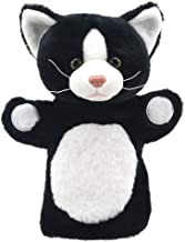 The Puppet Company - Animal Puppet Buddies - Black and White Cat - Hand Puppet