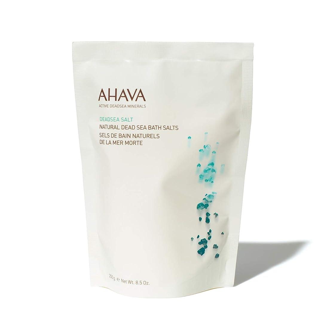 トリクル再編成する適度にAHAVA Natural Dead Sea Mineral Bath Salts 250 g