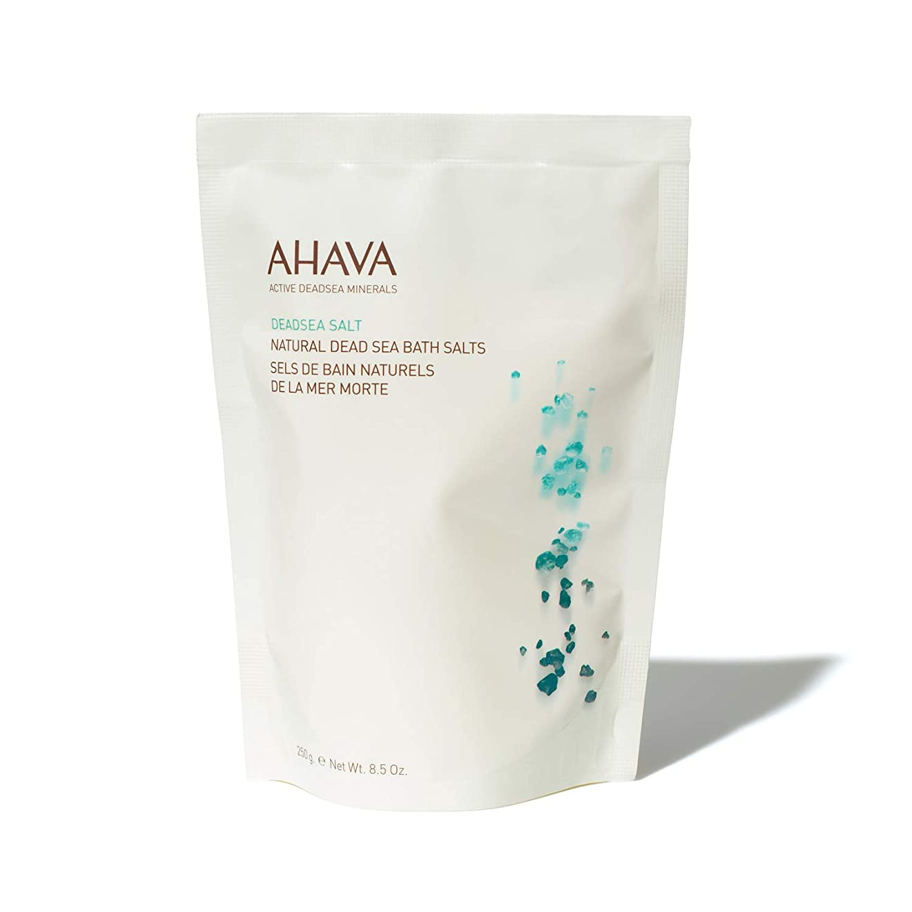 指ホット辞任するAHAVA Natural Dead Sea Mineral Bath Salts 250 g