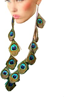 Best peacock feather earring Reviews