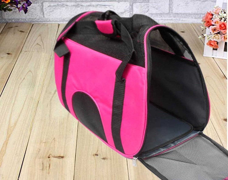 Daeou Pet Backpack Leisure Bag Bag Backpack cat Dog Backpack Oxford 45  24  32cm