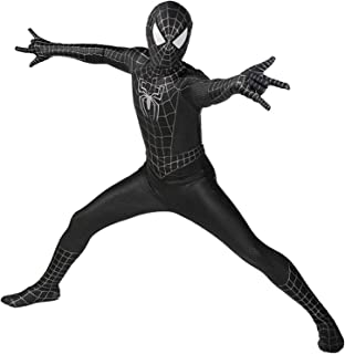 Avengers Spiderman Garment Halloween Carnival Cosplay Classic Black Spider Man Suit Lycra 3D Print Fancy Dress Party Movie...