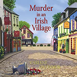 Murder in an Irish Village audiobook cover art