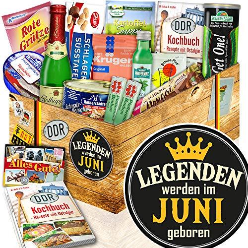 Legenden Juni + Geschenkset Juni + DDR Ossi-Box