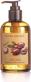 Nature Republic Argan Essential Deep Care Shampoo, 300 ml / 10.14 fl. Oz.