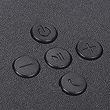 Altavoz Bluetooth para Exteriores, Altavoz de Audio, Caja de Altavoz portátil para MP3 para Radio, computadora, máquina de Juegos para teléfono móvil(Black, Pisa Leaning Tower Type)