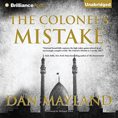The Colonel's Mistake audiobook cover art
