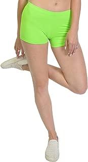 Girl's and Women's Nylon Spandex Stretch Booty Shorts