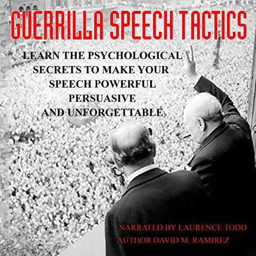 Guerrilla Speech Tactics audiobook cover art