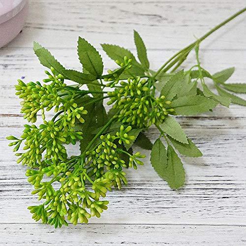 HTRN Boeket Decor Kunstbloemen Kunstbloem tak plastic Pistache nep planten voor thuis partij DIY bruiloft decoratie bloemstuk benodigdheden