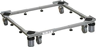 平安伸铜工业 可放置桶式洗衣机桌 灰色 DS-150