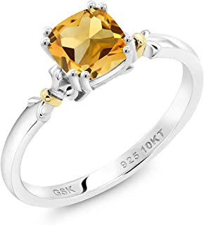 Best 10k yellow gold citrine ring Reviews
