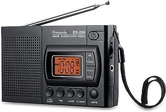 DreamSky Handheld AM FM Radios with Headphone Jack, Portable FM Radio with Transistor..