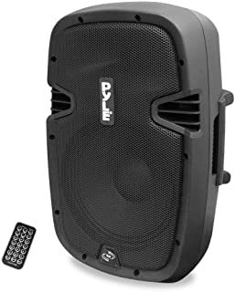 Powered Active PA System Loudspeaker Bluetooth with Microphone – 8 Inch Bass..