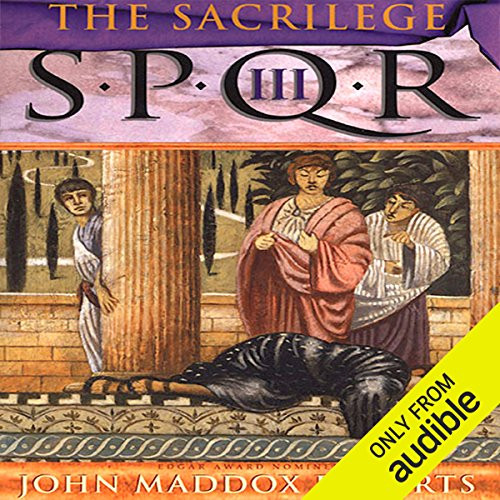 SPQR III: The Sacrilege audiobook cover art