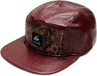 City Hunter Cn460 5 Panel Wool Leather 5 Panel Hat (40 Colors)