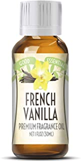 French Vanilla Scented Oil by Good Essential (Huge 1oz Bottle - Premium Grade Fragrance Oil) - Perfect for Aromatherapy, S...