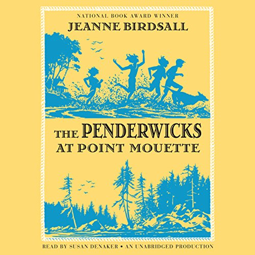 The Penderwicks at Point Mouette audiobook cover art