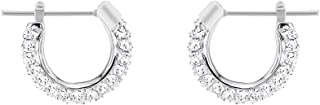 Swarovski Women's White Rhodium plated Stone Pierced Earrings 5446004