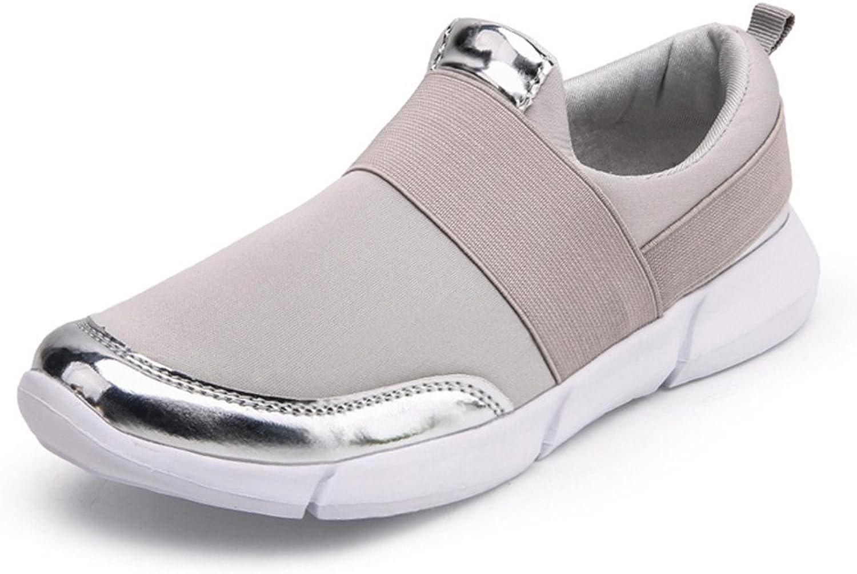Caing Woherrar Woherrar Woherrar Andable sommar Slip on gående skor Athletic ljusljus Ladies mode skor  Lagra