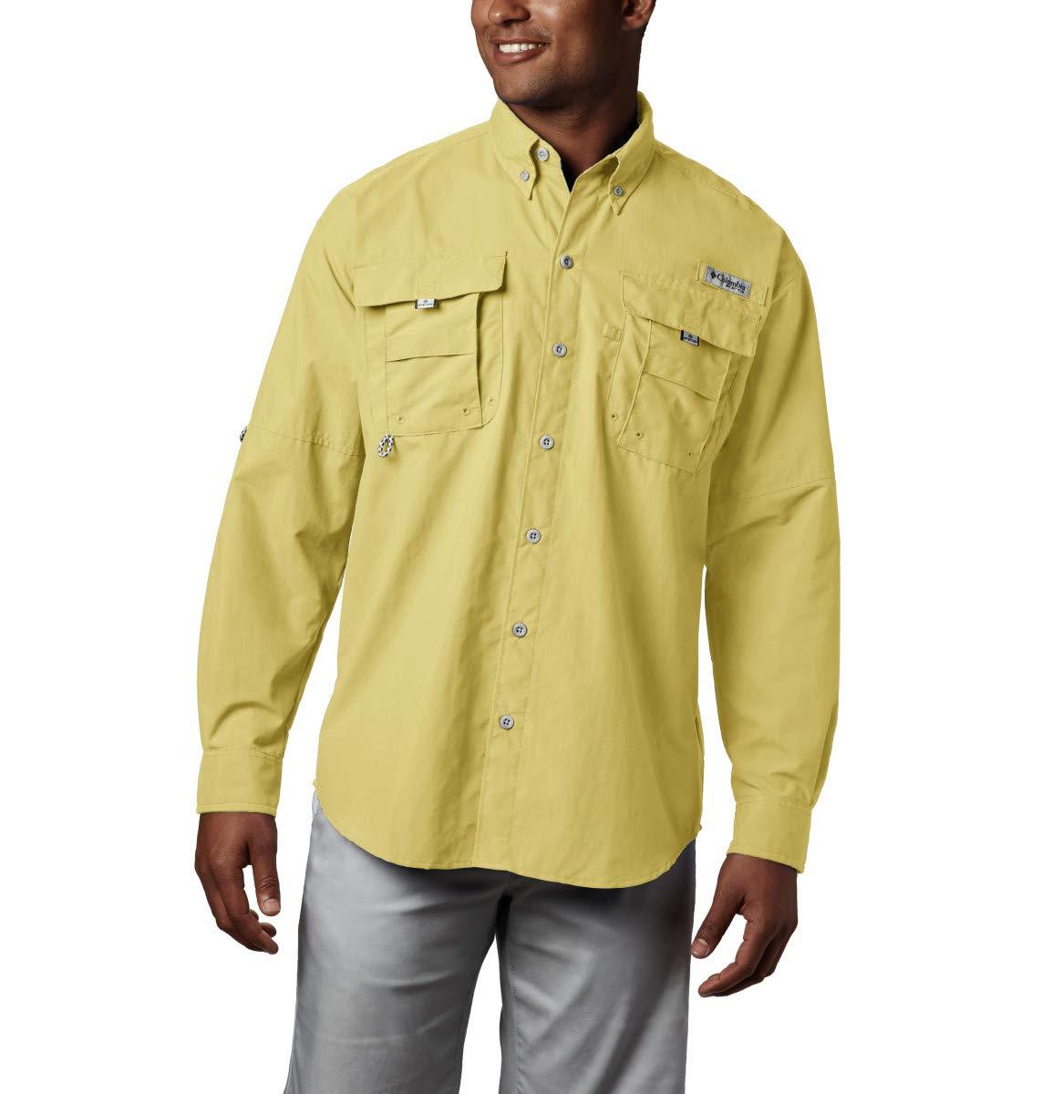 Men's PFG Bahama II Long Sleeve Shirt , Sunlit, X