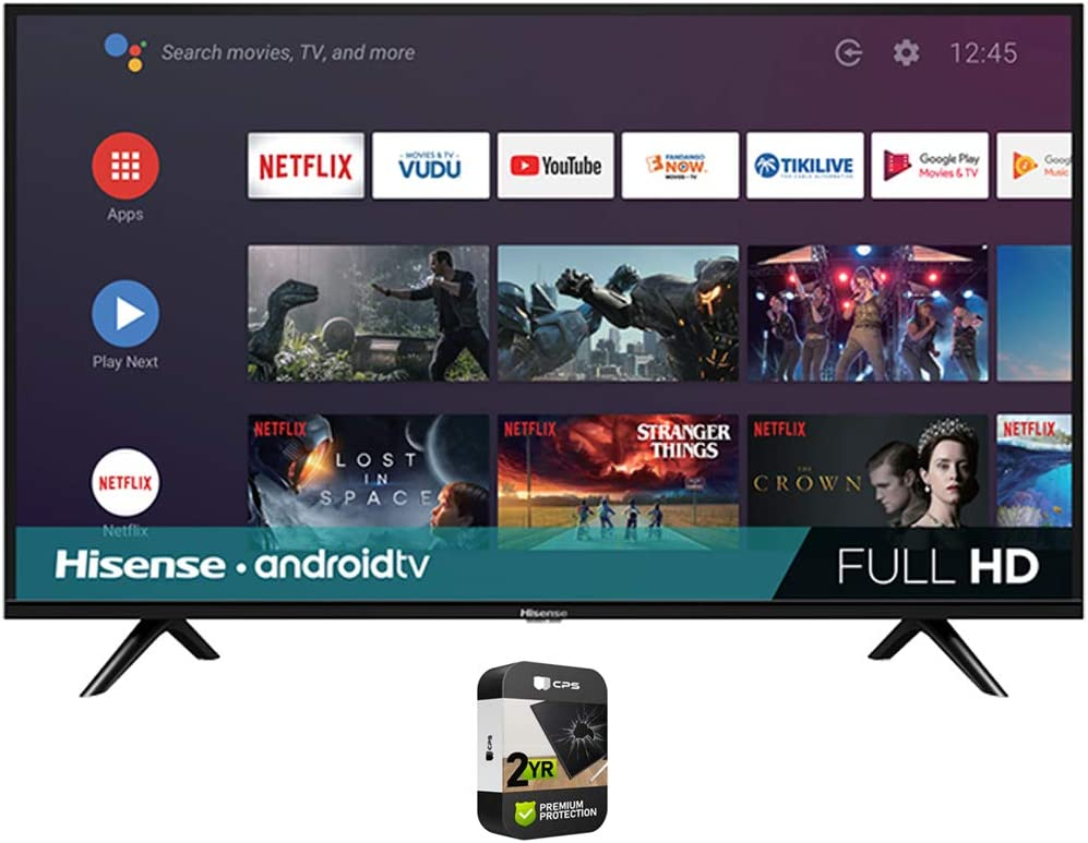 Today's only Hisense 43H5500G 43 Inch H55 Series Smart HD TV Android online shopping Full FHD