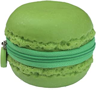 Green, Lime-scented Macaron (Macaroon) Cookie Coin Purse