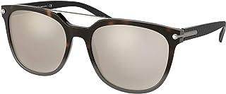 Gafas de Sol Bvlgari DIAGONO BV 7035 DARK HAVANA GREYGOLD 5618140 hombre