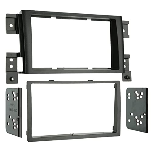 Metra 95-7953 Double DIN Installation Kit for 2006-2010 Suzuki Grand Vitara Vehicles