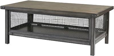 Superb Amazon Com We Furniture Az40Mstes Rustic Wood Rectangle Machost Co Dining Chair Design Ideas Machostcouk