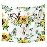 jtxqe Neue Tapisserie Wandbehänge Strandtuch Decke Sonnenblume Neue 26 150 * 130