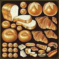 のぼり屋 Pデコレーションシール 4889 ミドル パン