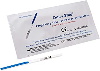 One Step 100 x Pregnancy Test Strips 25mIU Early Detection Tests FDA Approved