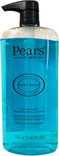 Pears Body Wash Gel With Mint Extract, 750 ml 25.36 Fl Oz