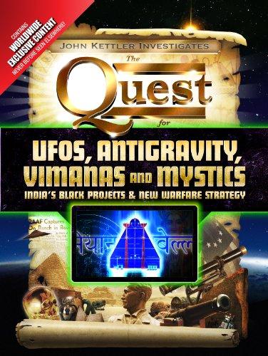 UFOs, Antigravity, Vimanas and Mystics: India's Black Projects & New Warfare Strategy (John Kettler Investigates Book 1) (English Edition)