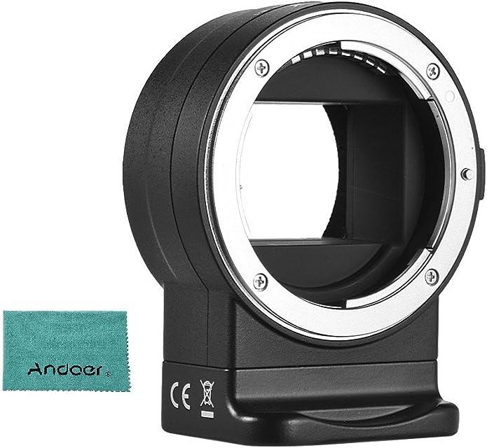 Andoer Viltrox NF de E1Auto Enfoque de Lente Adaptador de Montaje para Nikon F Montura de Objetivo para Sony E-Mount de cámara