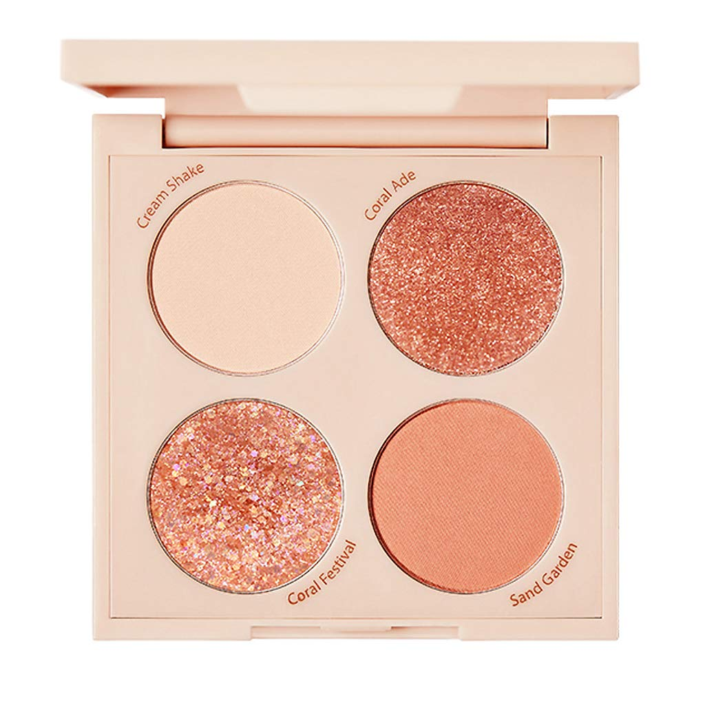 TOUCH Cheap mail order shopping IN Max 70% OFF SOL Metallist Starlight Colors Daily Palette 4 Glamorou