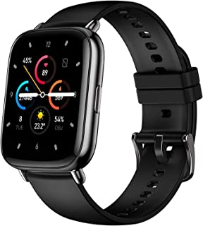 XYCSM Smart Watch Men Women Smartwatch Heart Rate Monitor Fitness Tracker Sport Ip67 para Ios Android Vida de batería larga/Negro