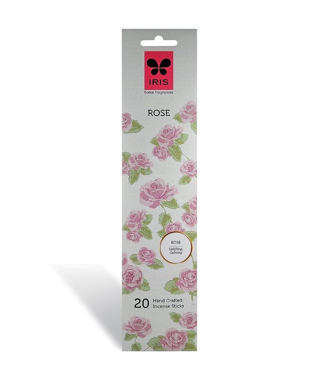 チャンピオン増幅窓IRIS Signature Rose Fragrance Incense Sticks