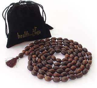 HealthAndYoga(TM) Mala Beads - Lotus - Soulgenie