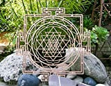 Sri Yantra Maze 12' , Thick, Chakra Wooden Wall Art, Wooden Wall Art Decor, Sacred Geometry Art, Geometry Art, Tapestry, Poster