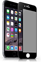 iPhone 6 Plus Privacy Screen Protector, VIEE Premium Anti Spy Privacy Tempered Glass Screen Cover for iPhone 6 Plus 6S Plus,Full Coverage,Touching Sensitive (Black)