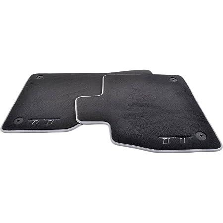 Kh Teile Fußmatten Velour Premium Automatten 2 Teilig Edle Rote Sport Design Streifen Auto