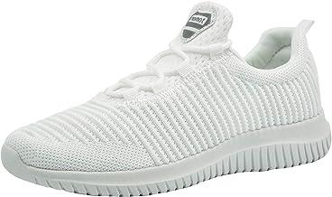 riemot Zapatillas Deportivas para Interior para Mujer Zapatos para Correr Deporte al Aire Libre Running Fitness Gimnasio S/úper Ligeras y Transpirables Sneakers Calzado Casual