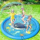 Peradix Splash Pad,170CM Aspersor de Juegos de Agua para Niños PVC...