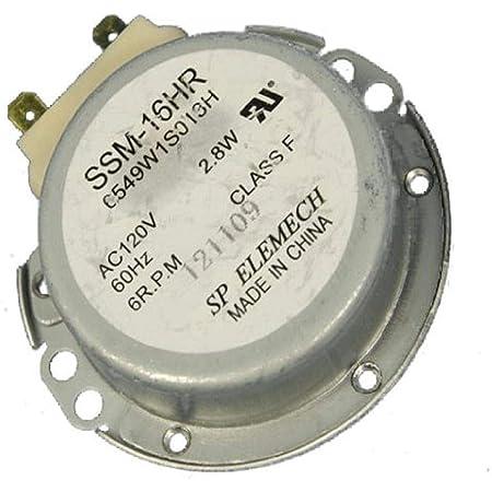 6549W1S013L Engine LG Microwave Microwave 21V 150mA 3W 50//60HZ 2P 5RPM/_6RPM