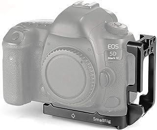 SMALLRIG L Bracket Soporte De Camara para Canon 5D Mark IV III Placa De Liberación Rápida L De Aleación De Aluminio con 1/4 Tornillo Estándar - 2202